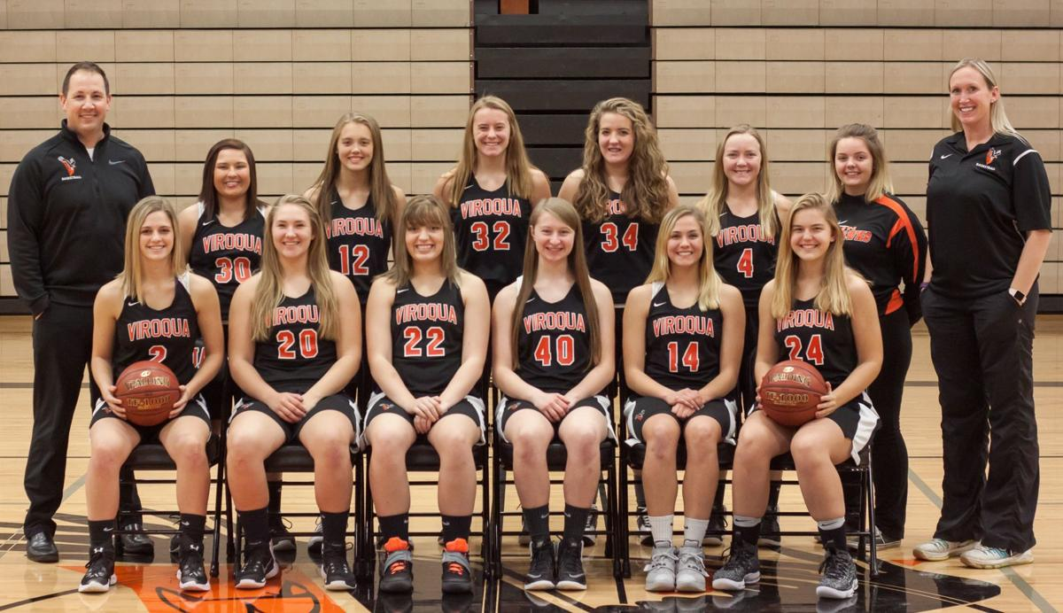 2017 Viroqua girls basketball team