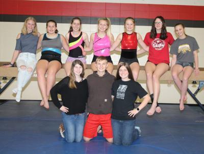 Westby High School gymnastics team 2019-2020