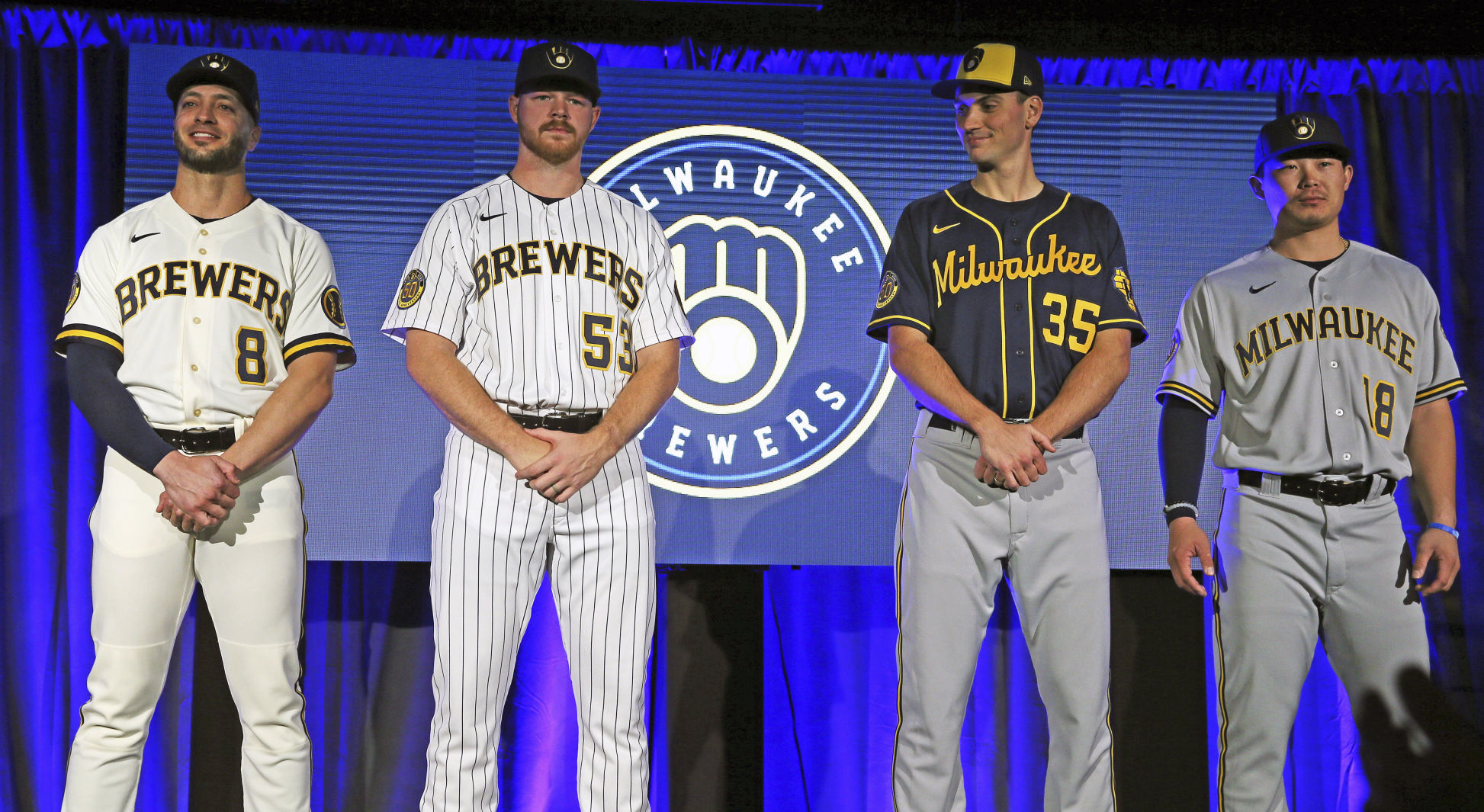 Milwaukee Brewers New Logo Uniform Designs Revealed Lacrossetribune Com