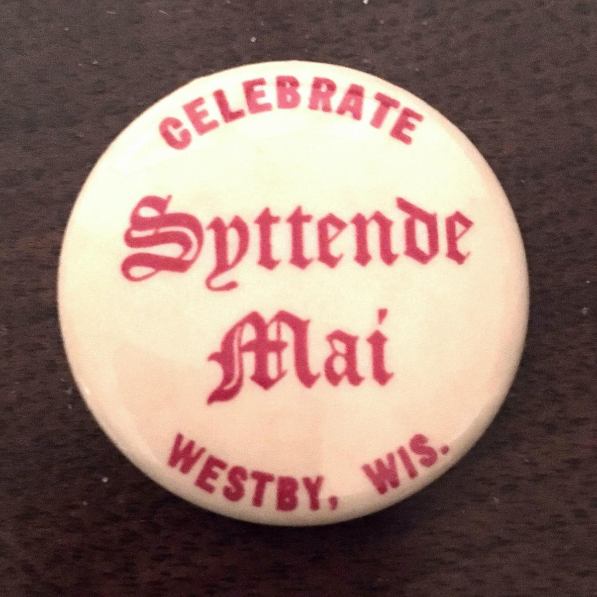 1969 Westby Syttende Mai button