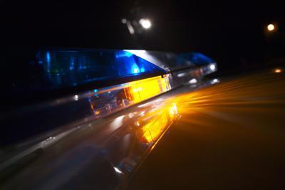 FILE -- police car