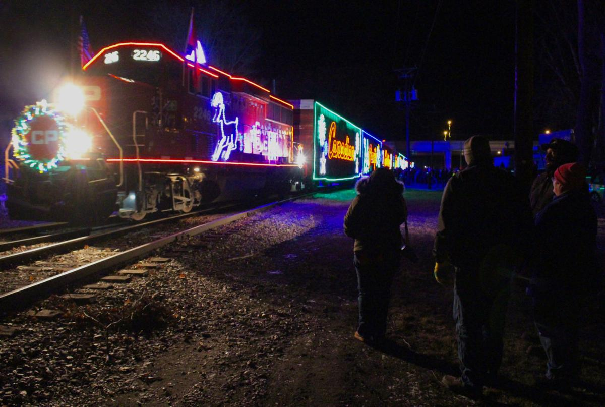 Holiday Train arrival