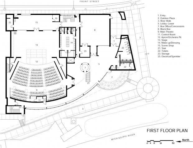 Community Theatre Plans 67M Building Along River Local Lacrossetribunecom