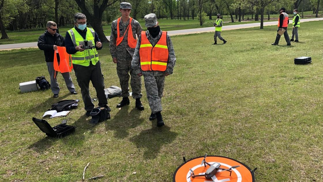 WATCH NOW: La Crosse Composite Squadron trains to be part of drone search team