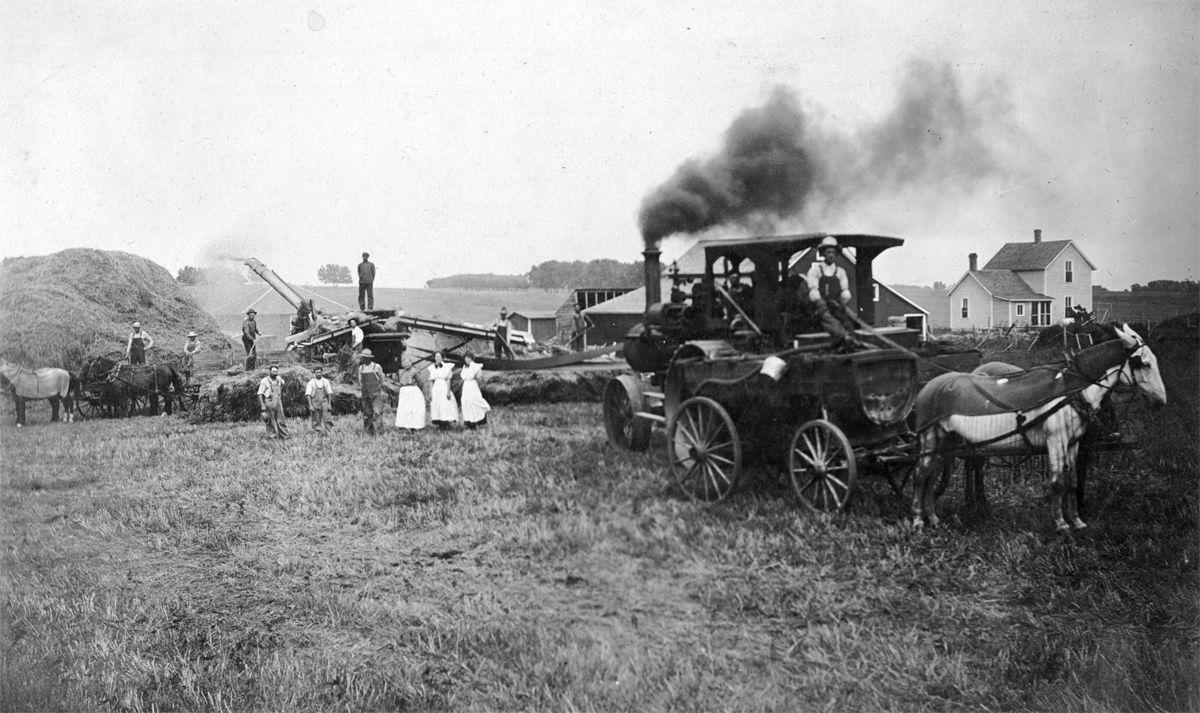 The Way it Was: Fall harvesting in early 1900s