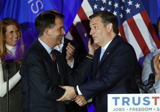 Scott Walker, Ted Cruz