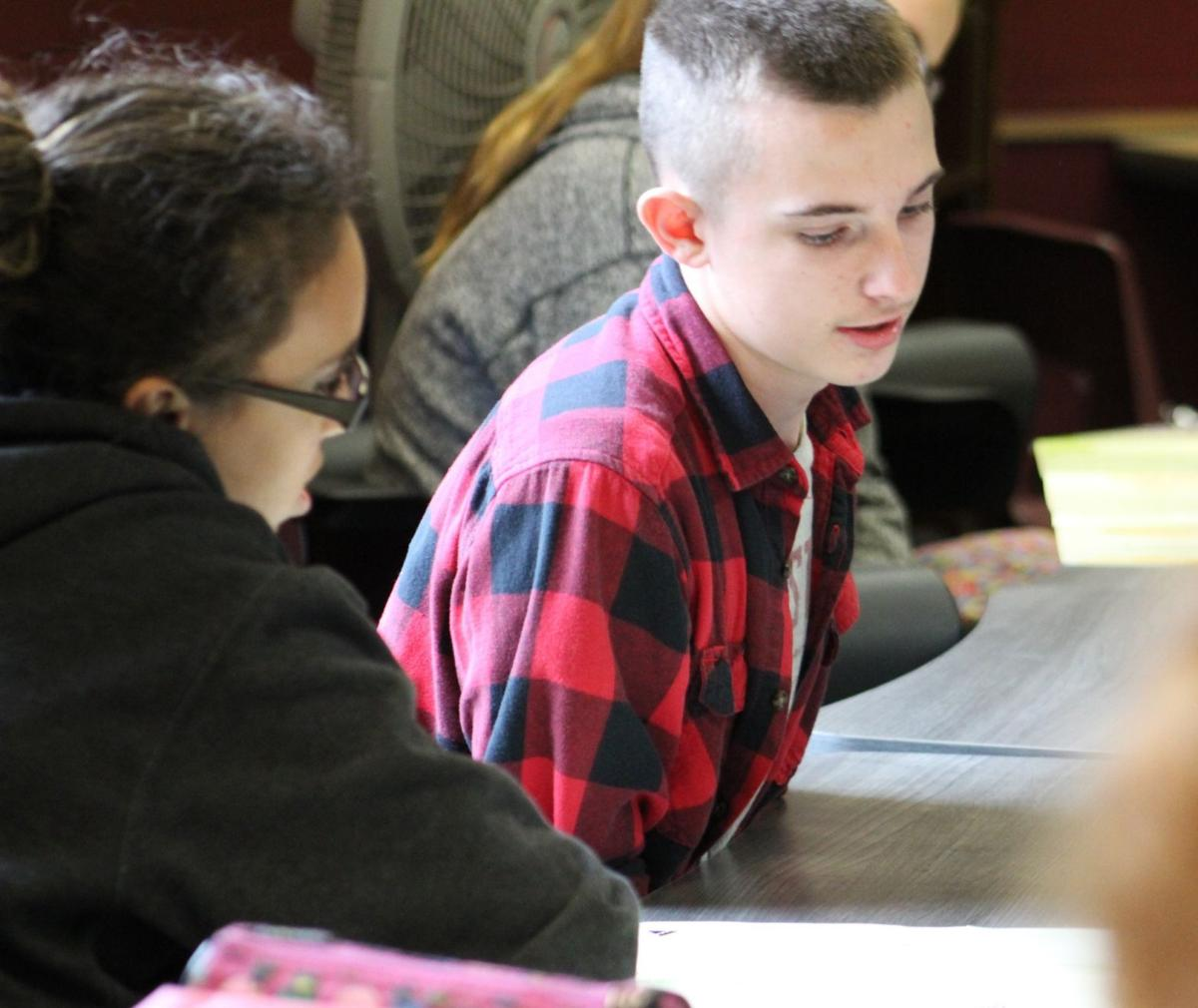 Middle school students learn career-readiness skills from CCU Junior Achievement program