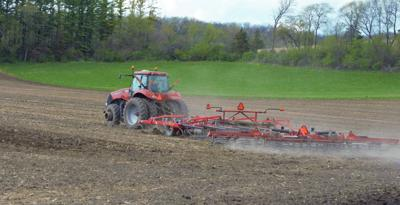 Spring showers bring wet fields, not flowers