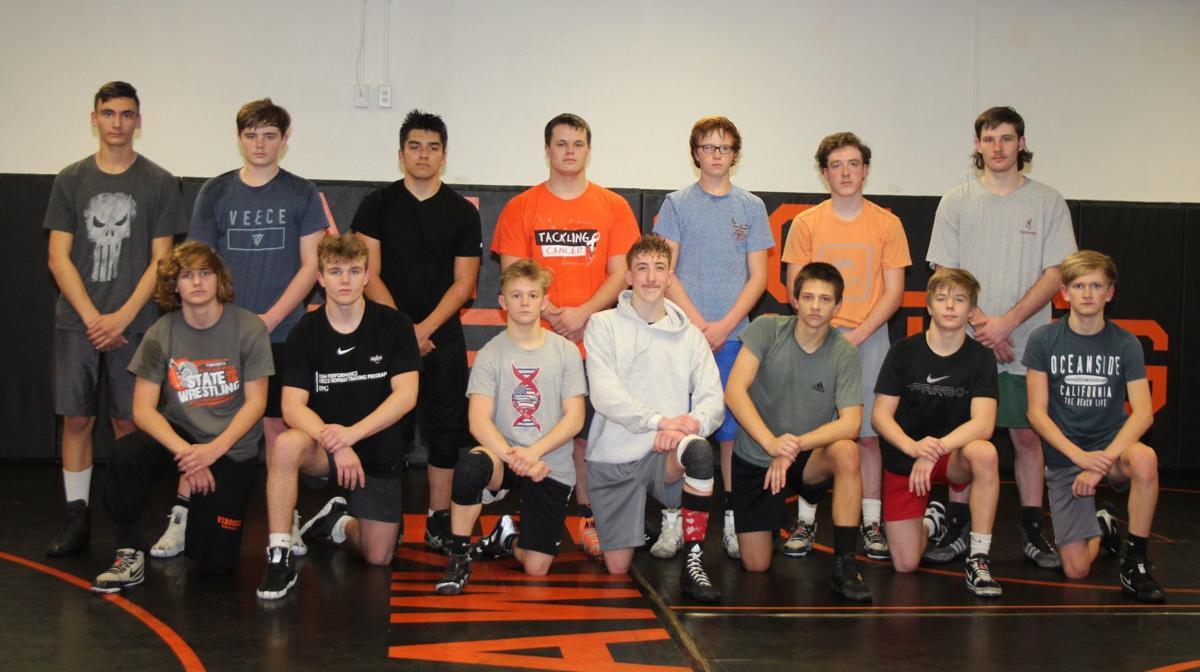 Viroqua High School wrestling team 2019
