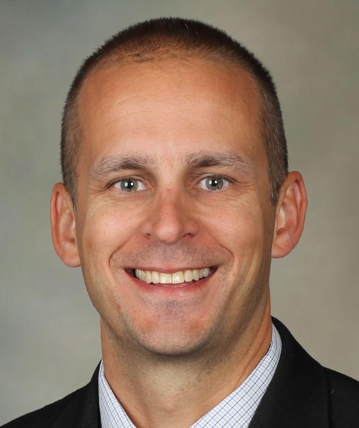 Mayo VP Tanner Holst