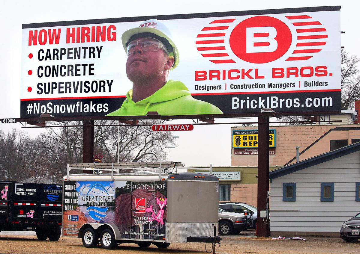 Brickl Brothers Regretnothing About Billboard Campaign