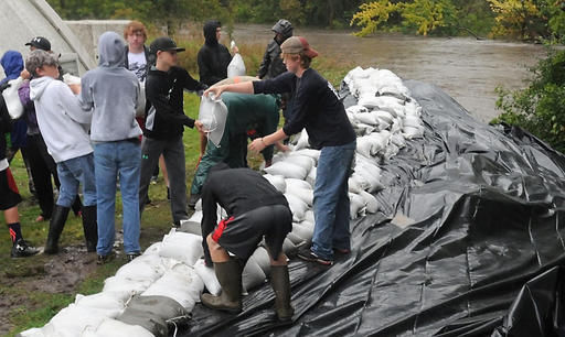 Parts of Minnesota see 10 inches of rain