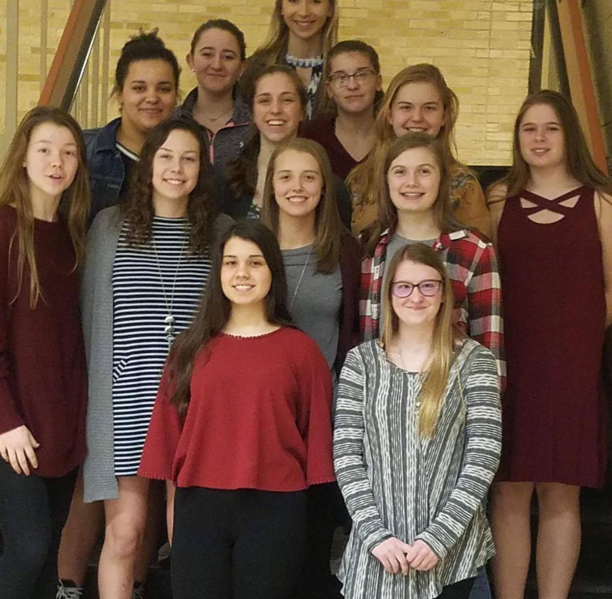 VHS girls basketball team