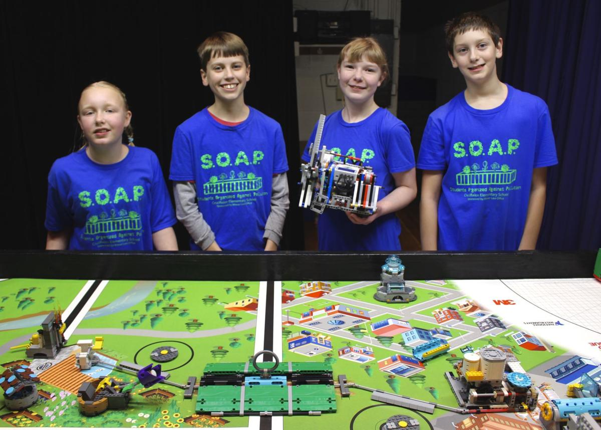 Crucifixion Elementary School FLL team