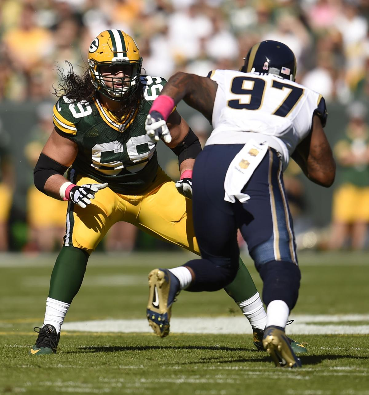 Green Bay Packers David Bakhtiari Mike Daniels look for edgier