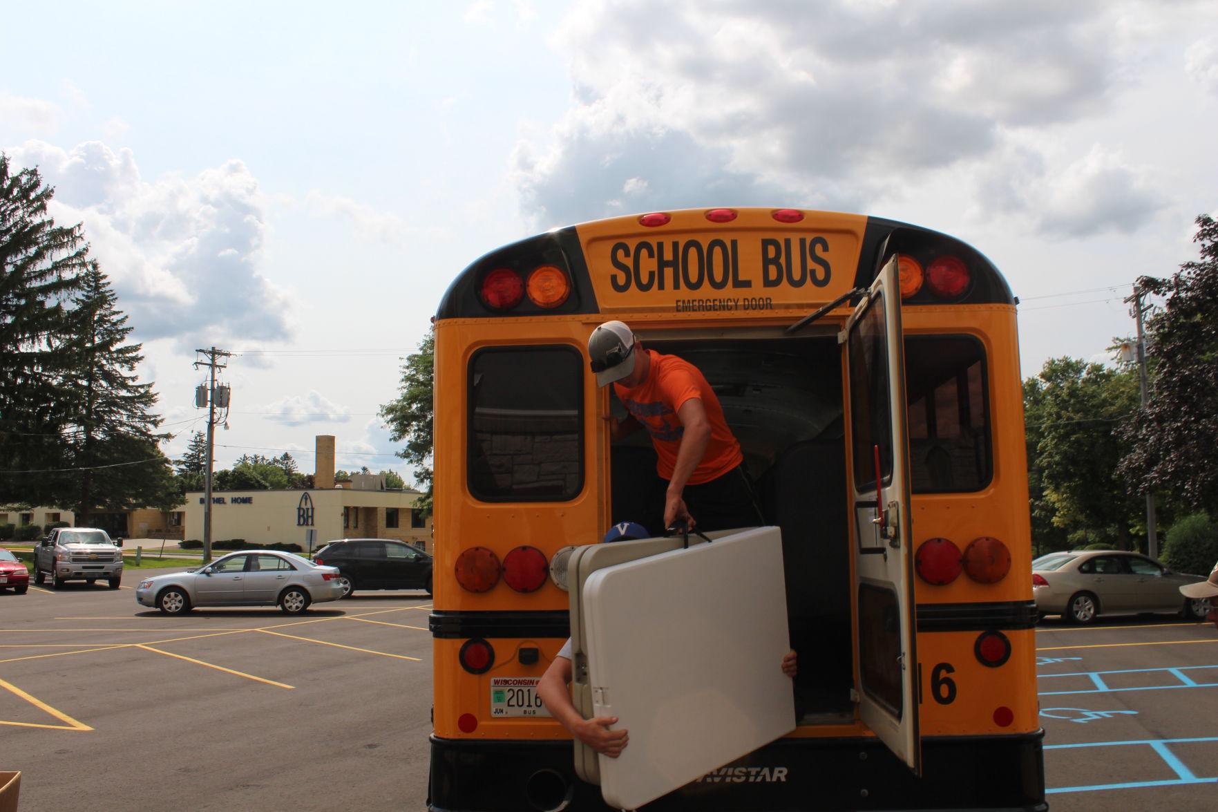 Annual 'Stuff the Bus' drive kicks off