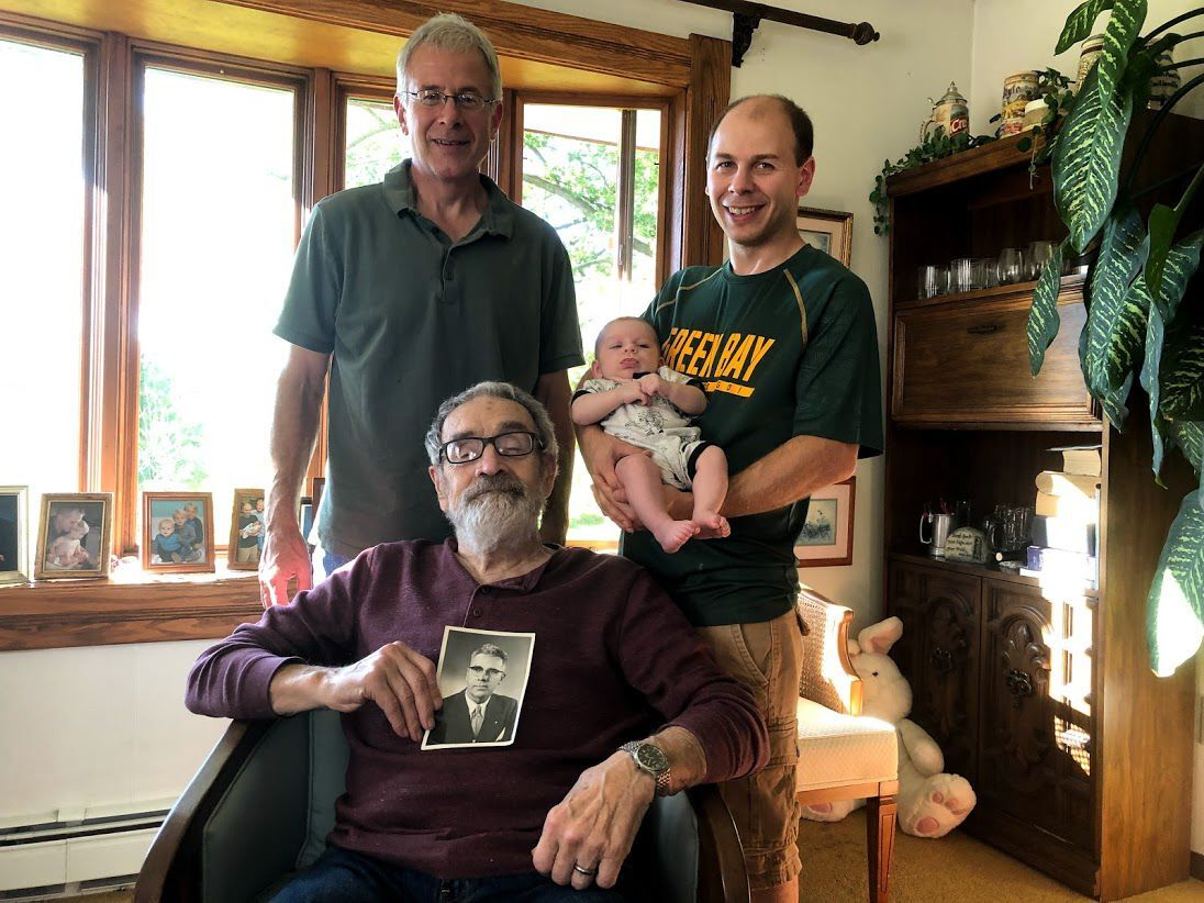 Four generations -- and then some