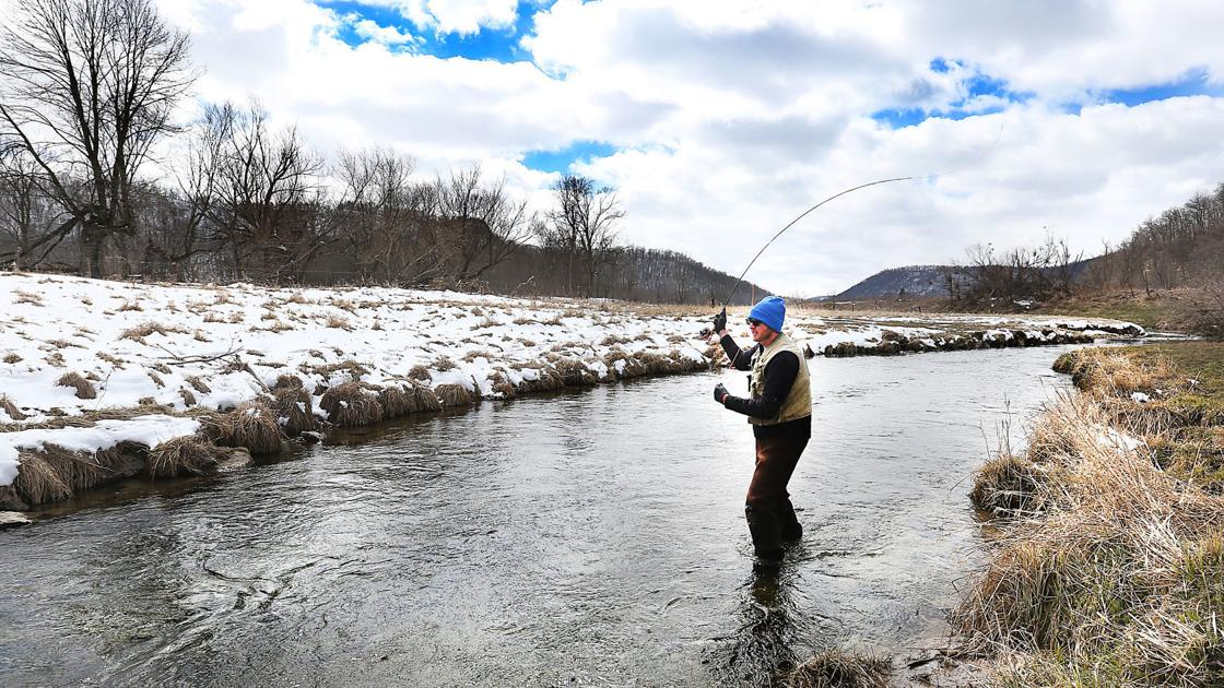 Here's the best time of day to fish for trout