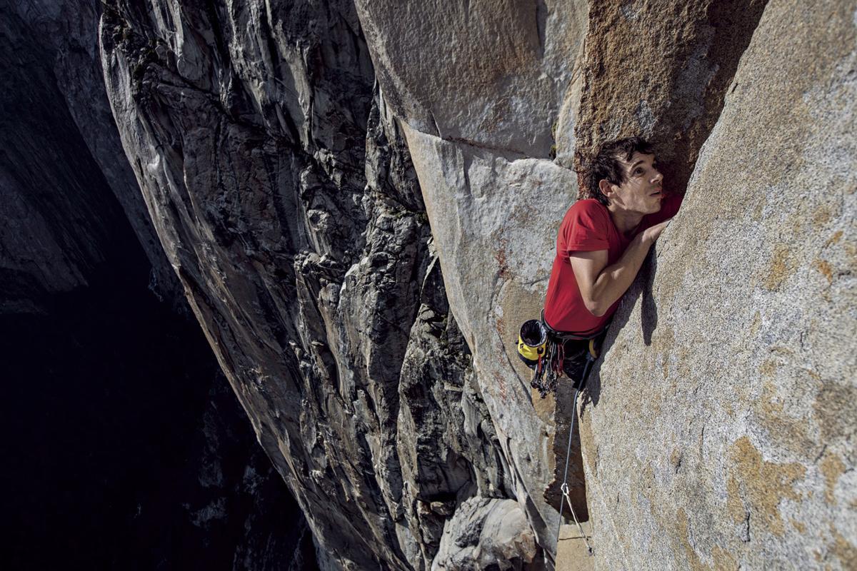 Alex Honnold on El Capitan
