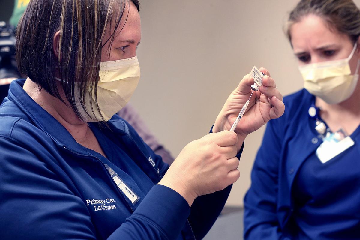 First COVID vaccine