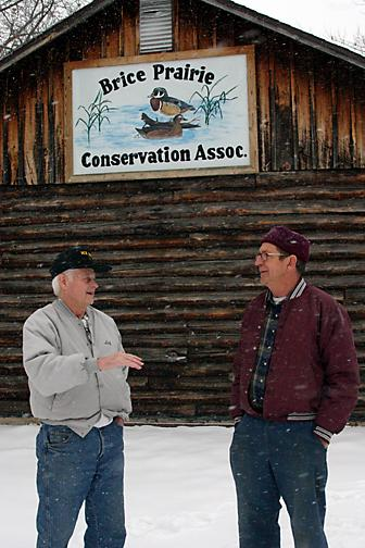 Brice Prarie derby a hardwater tradition