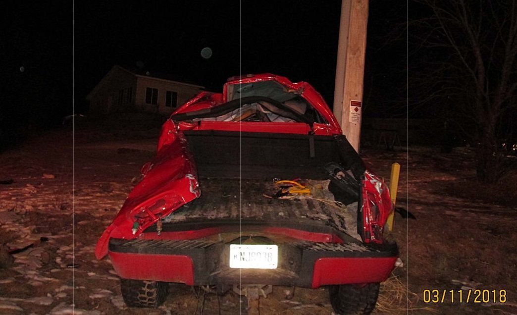 4 ejected in Jackson County rollover crash