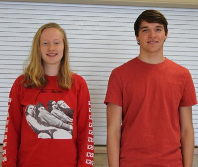 Rotary club Seniors of the Month for November
