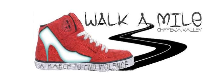 Walk A Mile Chippewa Valley logo