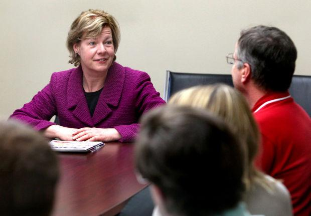 Tammy Baldwin at Wesby Co-op