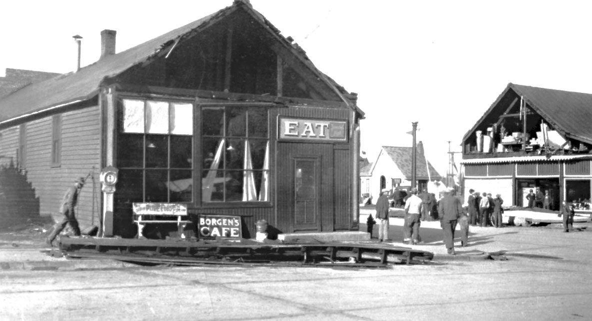 Borgen's Cafe, 1930