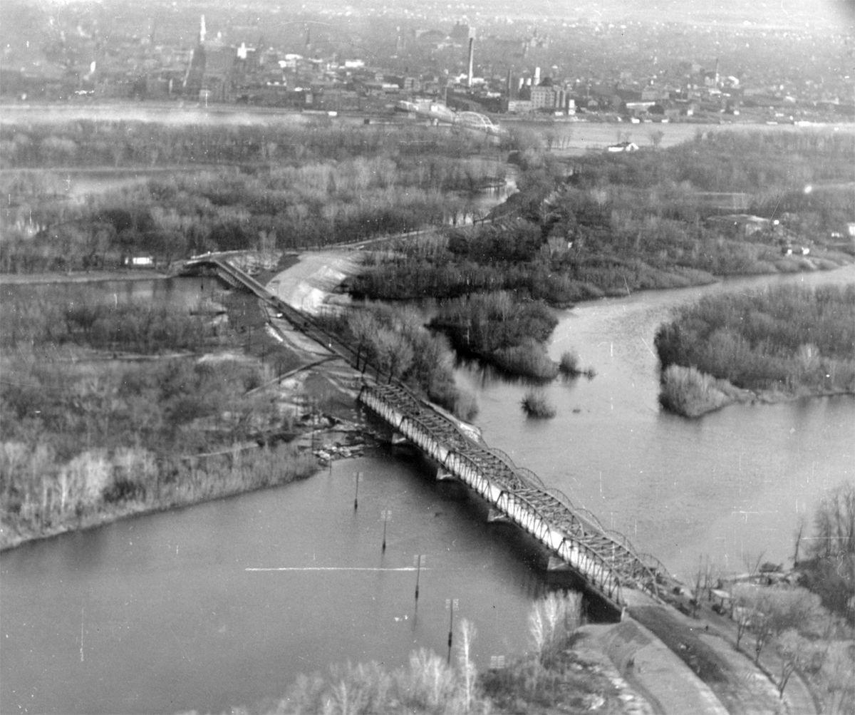 The Way it Was: A 1931 aerial view of the West Channel Bridge