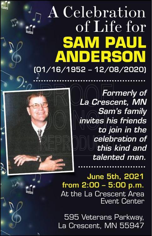Sam Paul Anderson