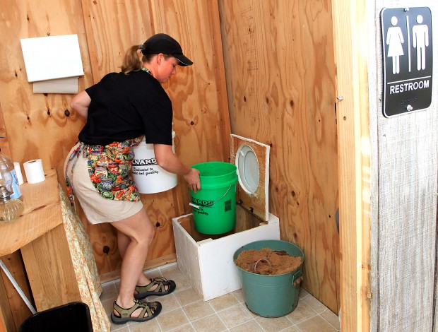 Going Green: Eco Friendly Toilet Popular With Visitors