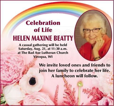 Helen Maxine Beatty