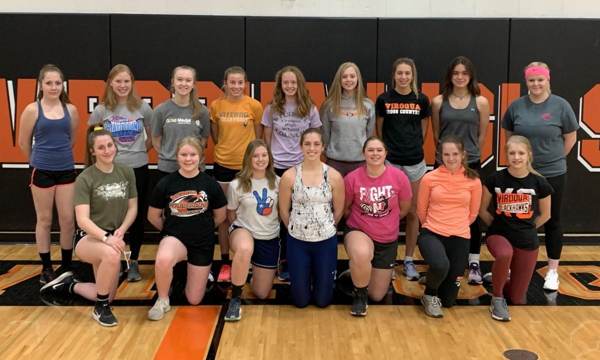 Viroqua High School girls track team 2021