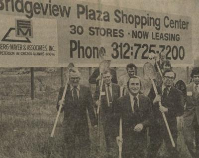 1971: Bridgeview Plaza Shopping Center