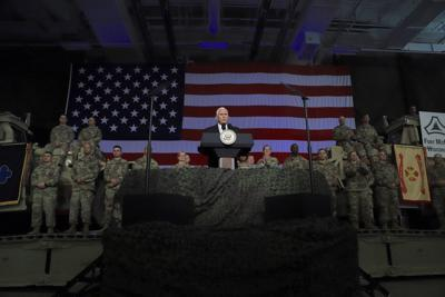 Pence at Fort McCoy