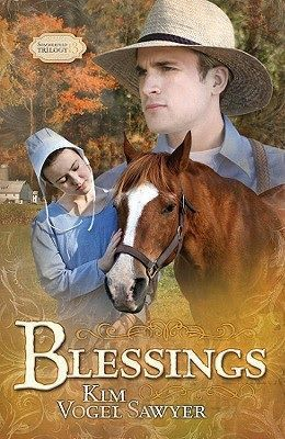 Book cover: 'Blessings' by Kim Sawyer