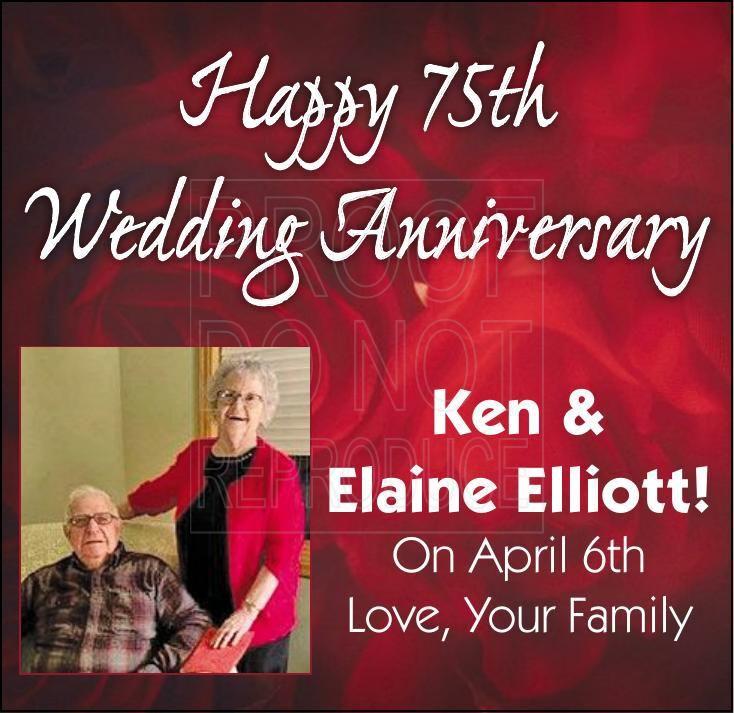 Ken & Elaine Elliott Anniversary