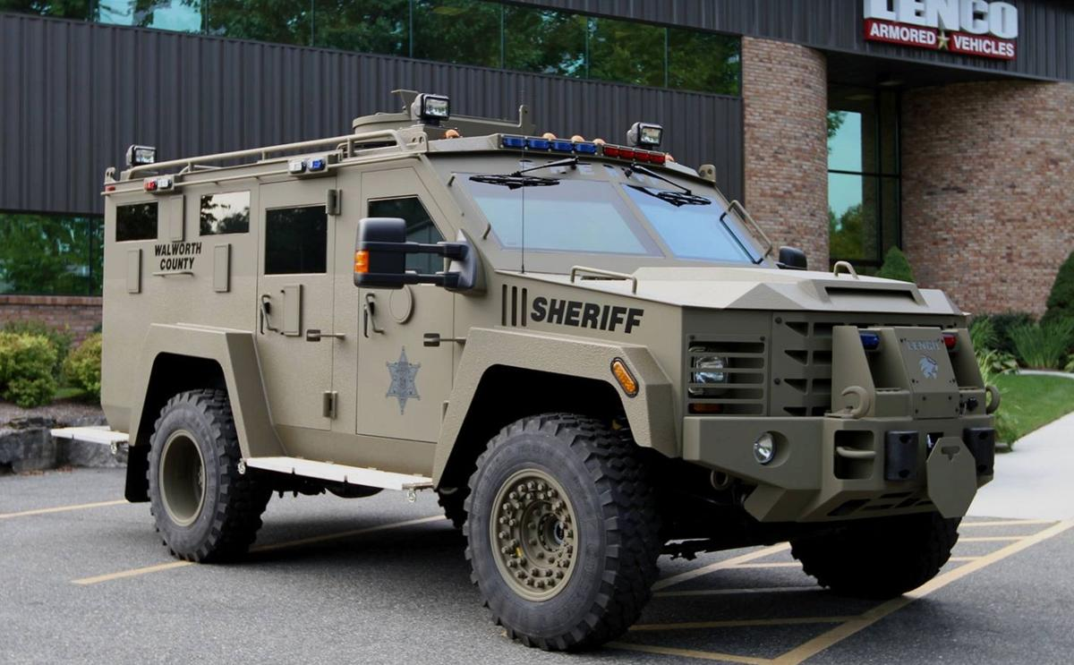 Sheriff's department offered $225,000 grant for new Bearcat