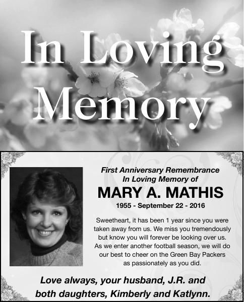 MARY A. MATHIS