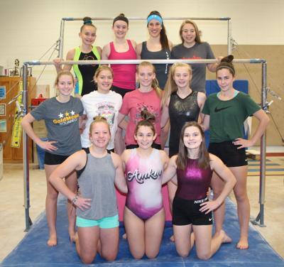 Viroqua High School co-op gymnastics team 2018