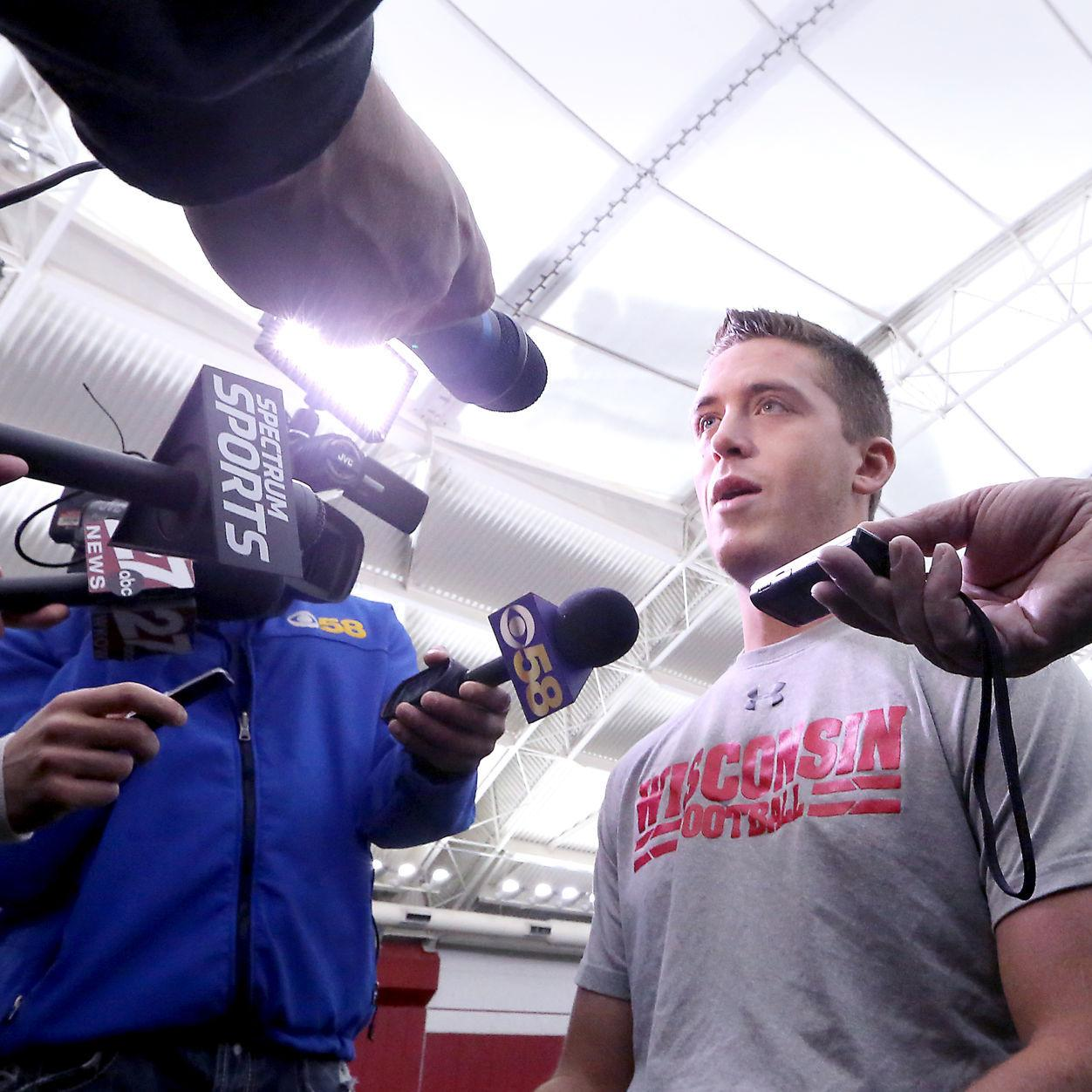 Wisconsin Backup Quarterback Jack Coan Makes Strides In