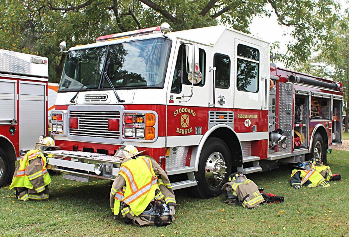 Stoddard-Bergen Fire Department truck