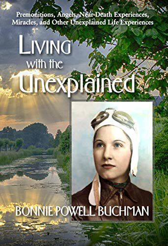 Bonnie Buchman book cover 'Living with the Unexplained'