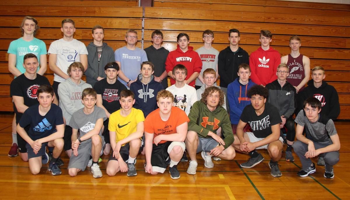 Westby High School boys track team 2019