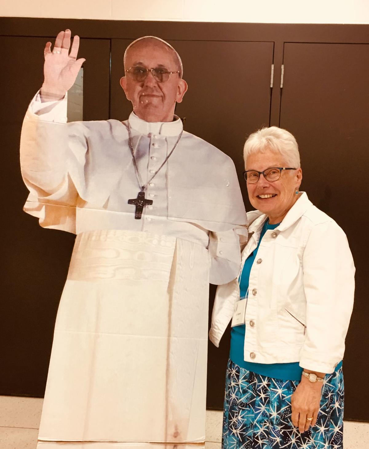 Sister Karen and pope