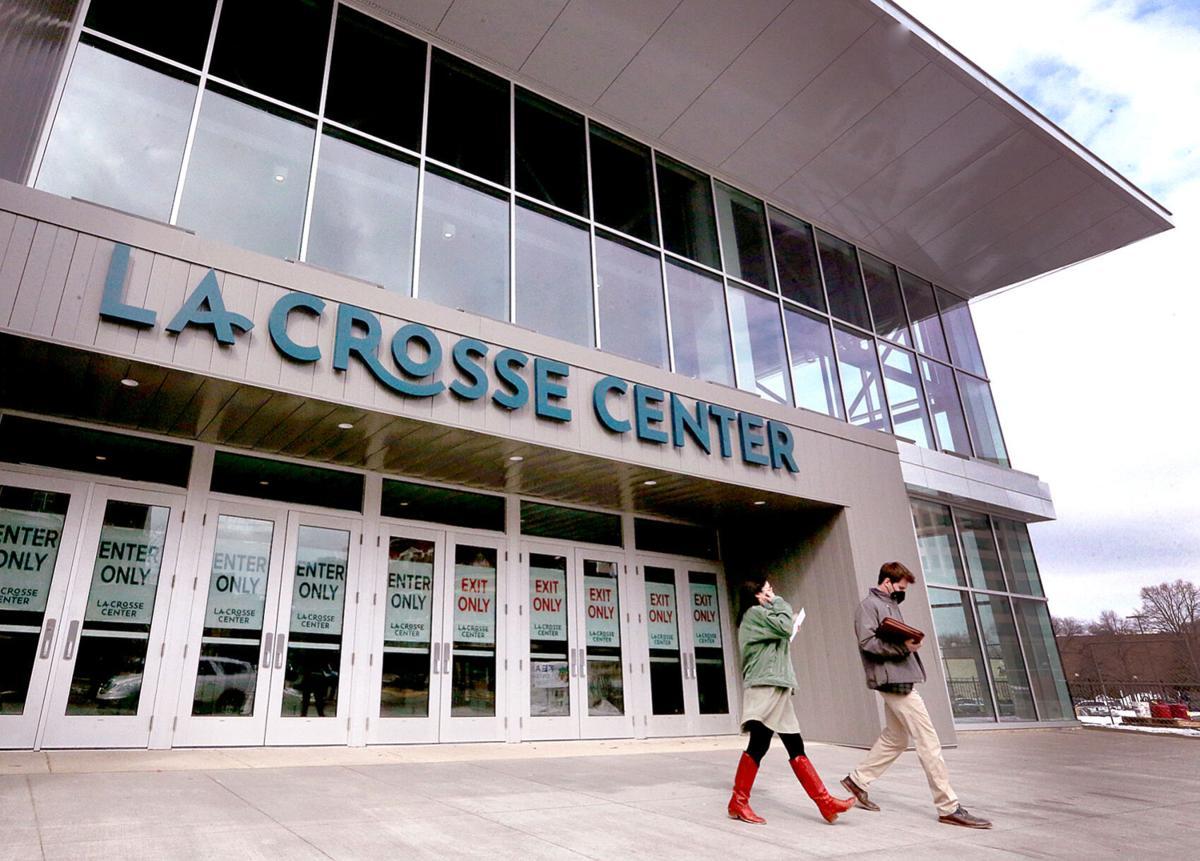 La Crosse Center ceremony