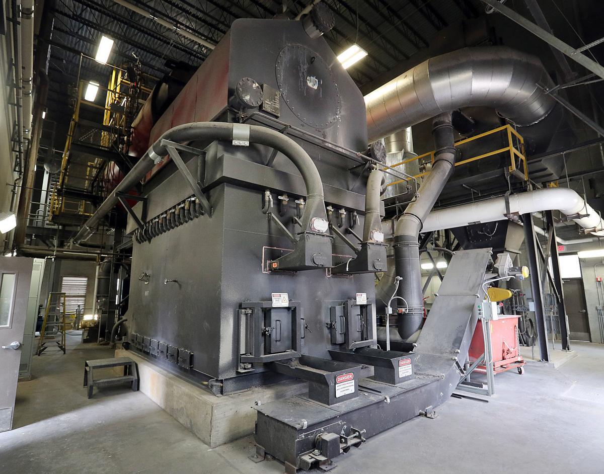 Gundersen Biomass plant