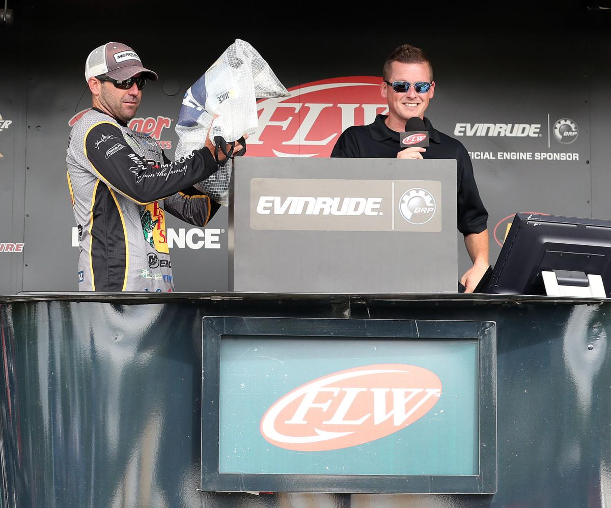 FLW Tour event on the Mississippi River